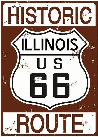 Route 66 Historic Illinois Magnet