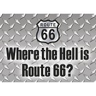 Where the Hell? Rt 66 Magnet