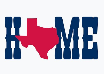 Texas Home Magnet