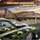 Route 66 Kustom Cruisers Metal Sign