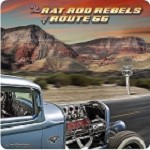 Route 66 Rat Rod Rebels Metal Sign