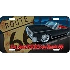 Route 66 Lincoln License Plate