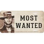 Wanted Clint Eastwood License Plate