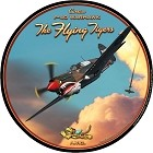 P-40 Flying Tiger Round Sign