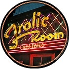 Frolic Room Round Sign