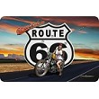 Route 66 Biker Babe Sm. Parking Sign
