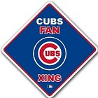 Chicago Cubs Diamond Crossing Sign