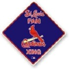 St. Louis Cardinals Crossing Sign