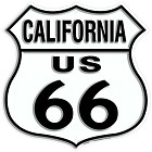 Route 66 CA Shield Sign