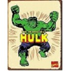 Incredible Hulk Metal Sign