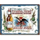 Budweiser - Anheuser Bottled Metal Sign