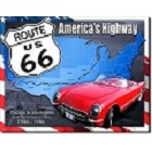 Route 66 '26 - '85 Metal Sign