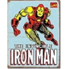 Iron Man Metal Sign