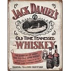 Jack Daniels Sipping Whiskey Metal Sign