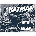 Batman Comic Logo Metal Sign