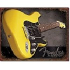Fender Guitar - Make History Metal Sign