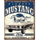Ford Classic Mustang Metal Sign