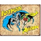 Batman & Robin Weatherd Metal Sign