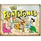 Flintstones Family Retro Metal Sign