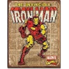Iron Man Retro Metal Sign