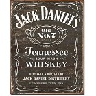 Jack Daniel's Wood Cut Logo Metal Sign