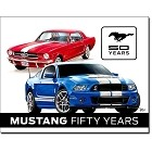 Mustang Fifty Years Metal Sign
