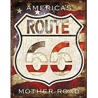 Route 66 America's Metal Sign