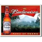 Budweiser - King of Beers Metal Sign