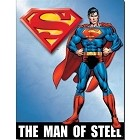 Superman of Steel Metal Sign