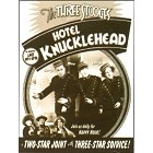 3 Stooges Hotel Knucklehead Metal Sign
