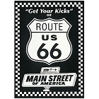 Route 66 Kicks Metal Sign