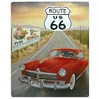 Route 66 Diner Metal Sign