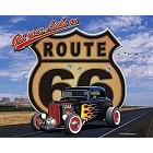 Route 66 Sky Metal Sign