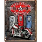 Legends - Last Stop Motorcycle Metal Sign