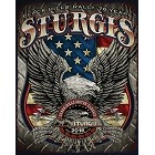 Sturgis Eagle Metal Sign