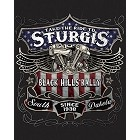 Sturgis Black Label Metal Sign