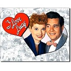 Lucy & Desi Metal Sign