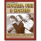 3 Stooges Howard, Fine, Lawyers