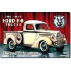 Ford '39 Pick Up Metal Sign