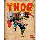 Thor Retro Metal Sign