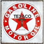 Oil - Texaco Metal Sign