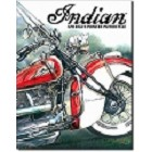 Indian Motorcycle America's Pioneer Metal Sign