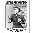 Lucy - Vitameatavegamin Metal Sign