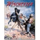 Winchester Spooked Horse Metal Sign
