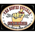Busted Knuckle Garage Metal Sign