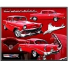 Chevy - '56 Bel Air Metal Sign
