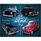 Ford Trucks Metal Sign