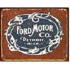 Ford Motors Logo Metal Sign