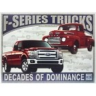 Ford - F Series Trucks Metal Sign