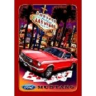 Ford - Mustang Vegas Metal Sign